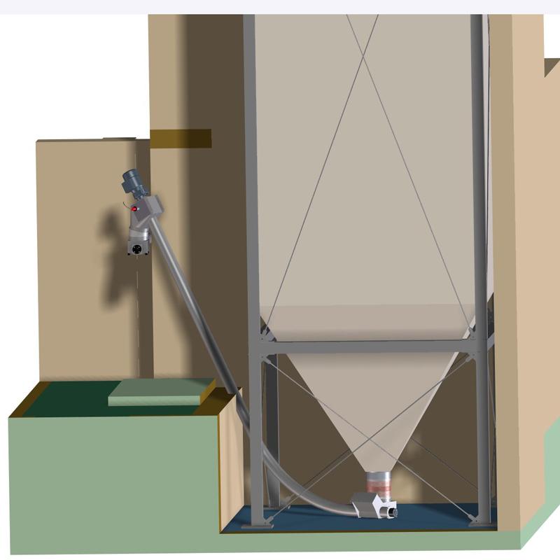 k rcher a b s flexible silos f r pellets und sch ttgut. Black Bedroom Furniture Sets. Home Design Ideas