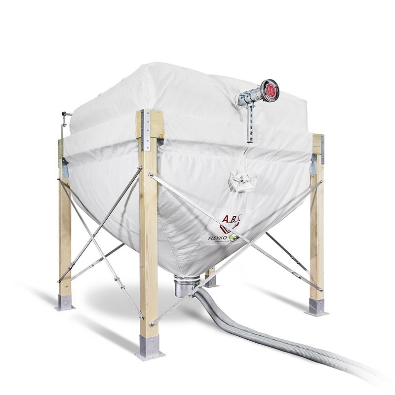 flexilo eco a b s flexible silos f r pellets und sch ttgut. Black Bedroom Furniture Sets. Home Design Ideas