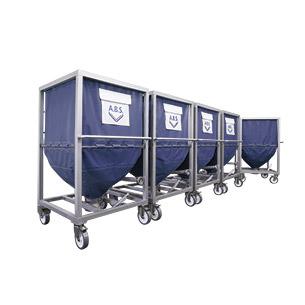 container a b s flexible silos f r pellets und sch ttgut. Black Bedroom Furniture Sets. Home Design Ideas