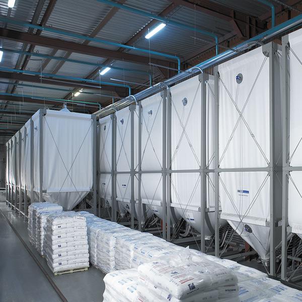 silos for plastics a b s flexible silos f r pellets und sch ttgut. Black Bedroom Furniture Sets. Home Design Ideas