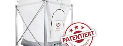 Flachbodensilo von A.B.S. patentiert